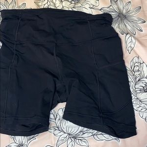 Lululemon shorts; worn once